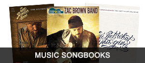 Zac Brown Band Music Songbooks
